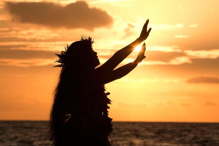 ハワイのダンサー